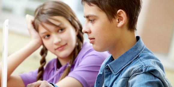 男子が男に見えた時!!学校で恋に落ちるシチュエーション のイメージ画像